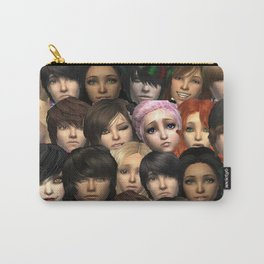 All Around Me are Familiar Faces Carry-All Pouch
