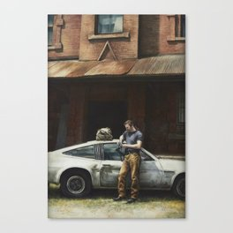 That Fleeting Moment Captured Canvas Print