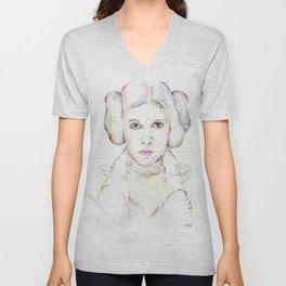 Princess Leia Unisex V-Neck
