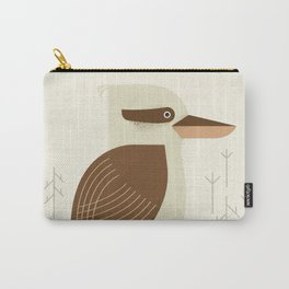 Laughing Kookaburra, Bird of Australia Carry-All Pouch