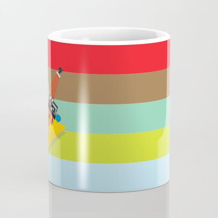 80's explosion Coffee Mug