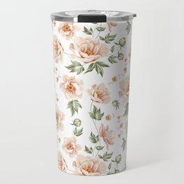 Flower samless pattern Travel Mug