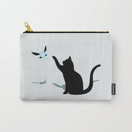 Cat and Navi Carry-All Pouch