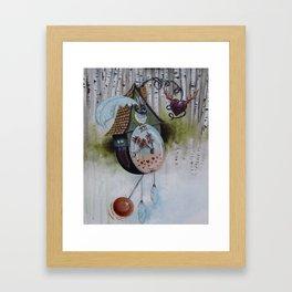 Lucky Timing Framed Art Print