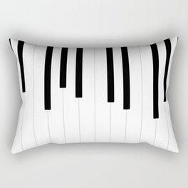 Piano keys, music background #society6 #decor #buyart #artprint Rectangular Pillow