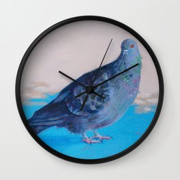 Rather Rotund Wall Clock