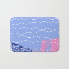 mermaid afterparty Bath Mat