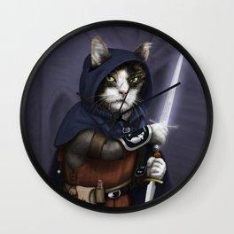 Rogue Cat Wall Clock