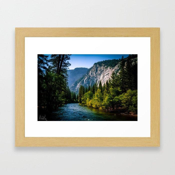 Majestic Yosemite Framed Art Print