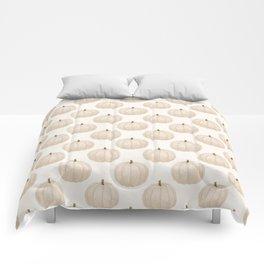White Pumpkin Comforters