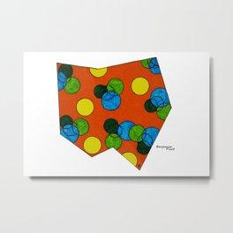 Bubble State  Metal Print