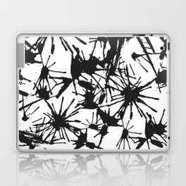 Ink Splatter 01 Laptop & iPad Skin