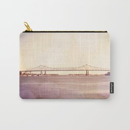 Greater New Orleans Bridge over the Mississippi Carry-All Pouch