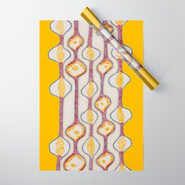 Stitches - Growing bubbles Wrapping Paper