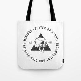 Slayer Title Tote Bag