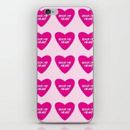 Rock My Heart iPhone Skin