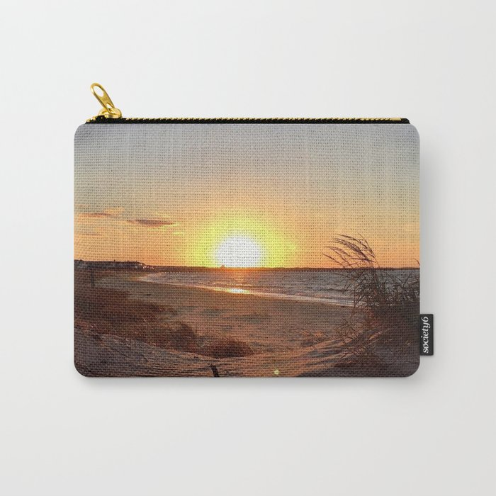 Off-Season Sunsets Carry-All Pouch