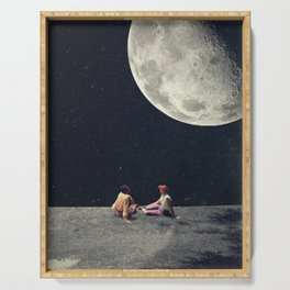 I Gave You the Moon for a Smile Serving Tray