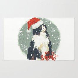 Vintage Christmas (Cat Edition 2) Rug