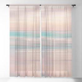 SUNRISE TONES Sheer Curtain