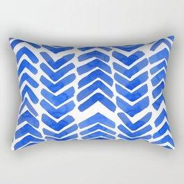 Chevron ink Rectangular Pillow