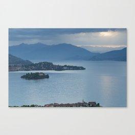 Majestic Lake Maggiore Canvas Print