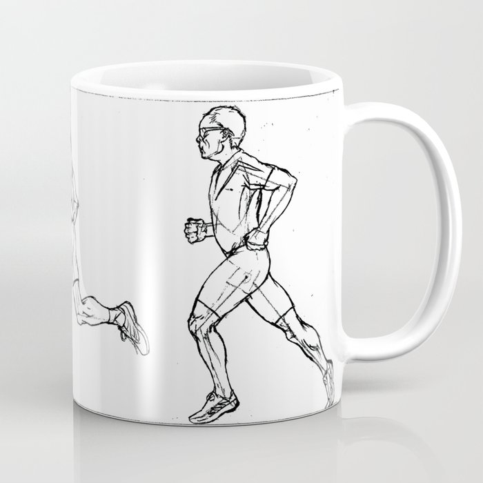 Transition through Triathlon Runners A Coffee Mug
