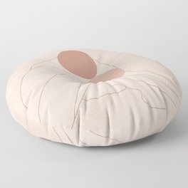 Warming my Heart Floor Pillow
