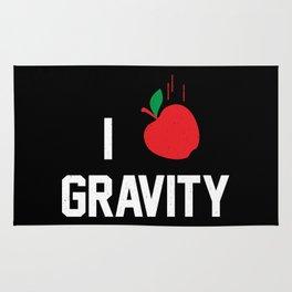 I heart Gravity Rug