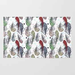 Falling Feathers Rug