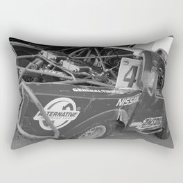 Track Noir TORC #10 Rectangular Pillow