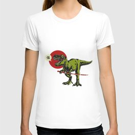 T-Rex with a Sword T-shirt