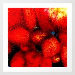 Fuzzy Wuzzy Art Print