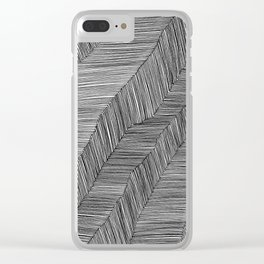 Pen & Ink: #10 Clear iPhone Case