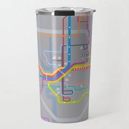 Simplified Columbus Transit Map Travel Mug