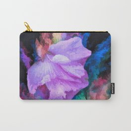 Floral Rainbow Carry-All Pouch