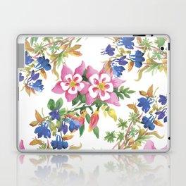 Painting lili flowers Laptop & iPad Skin
