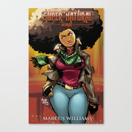 "The Super Natural Woman ""Fall"" Canvas Print"
