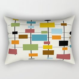 Mid-Century Modern Art 1.3 Rectangular Pillow