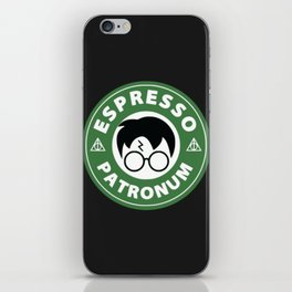 Espresso Patronum Starbucks iPhone Skin