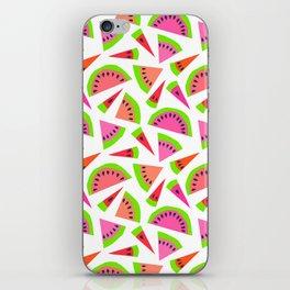 Juicy, juicy watermelon ... iPhone Skin
