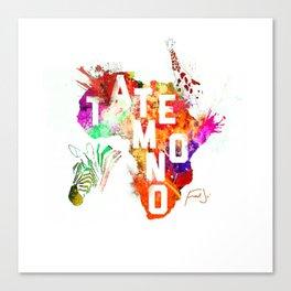 Tatemono Jungle by Fred Jo' Canvas Print