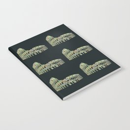 Colosseum Collage Notebook