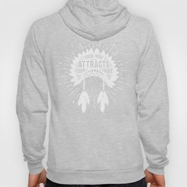 Your Vibe Attracts Your Tribe - Pacific Ocean Hoody