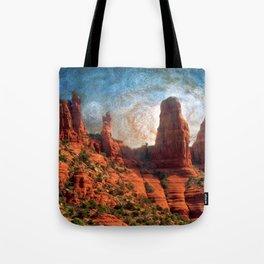 Van Goghs Sedona Vortex Tote Bag