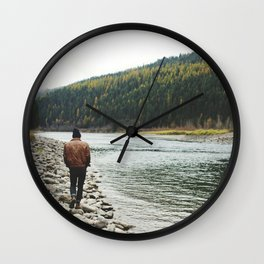 Kootenai National Forest Wall Clock