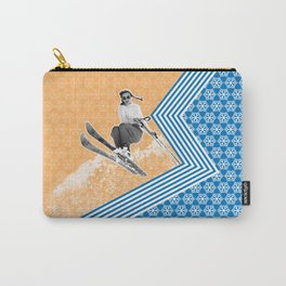 Ski Like a Girl Carry-All Pouch