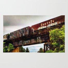 Graffiti Train Rug