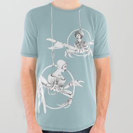 Weird & Wonderful: Crab Circus All Over Graphic Tee