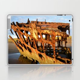 The Wreck of the Peter Iredale Laptop & iPad Skin
